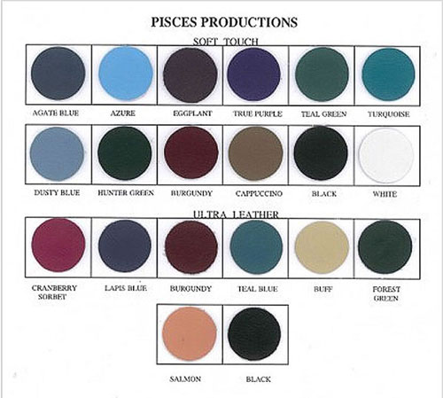 Pisces Productions Vinyl & Color Choices